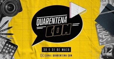 Quarentena Con, que acontece em 30 e 31 de maio, revela programação completa