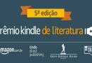 Abertas as inscrições da 5ª edição do Prêmio Kindle de Literatura