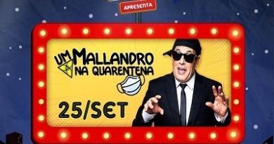 Sérgio Mallandro realiza show de humor em Drive-in das Américas