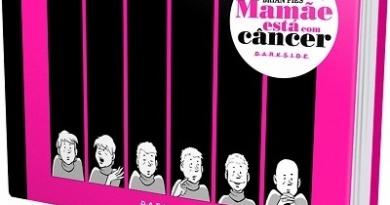 Darkside Books publica premiada Graphic Novel Mamãe Está com Câncer